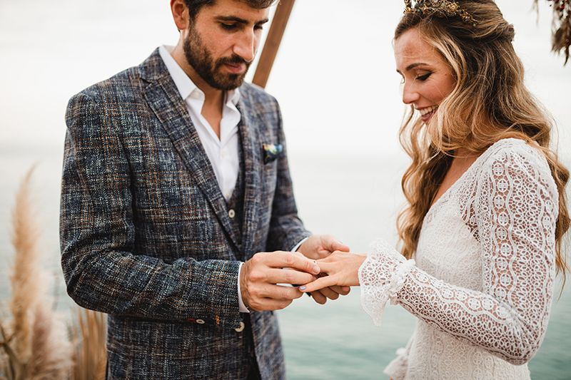 fotógrafos de boda natural San Sebastian